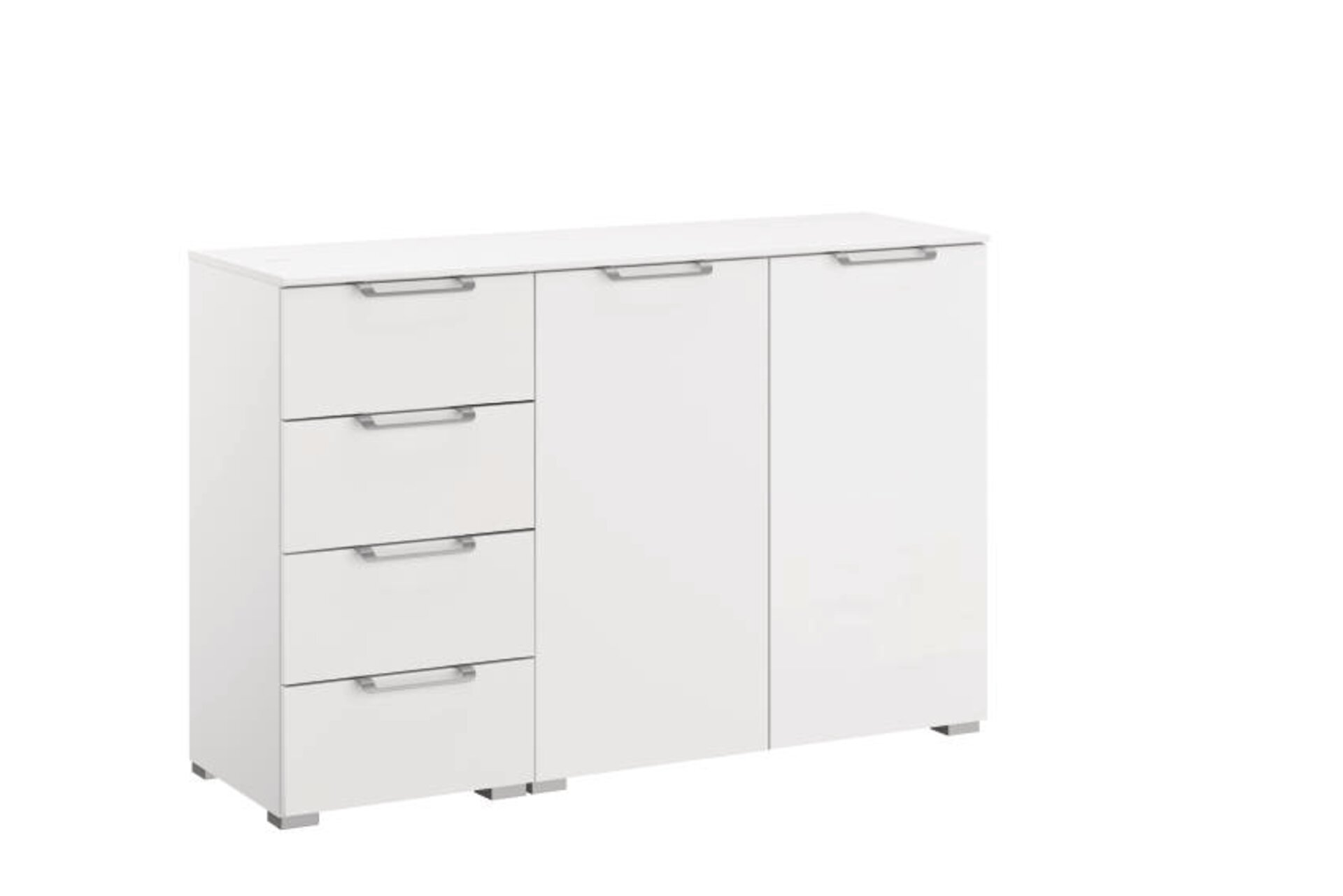 Kommode ALLSTARS Vito Holzwerkstoff weiß 42 x 81 x 120 cm