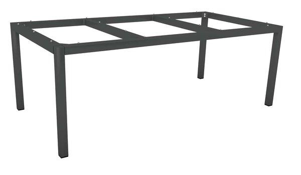 Tischgestell Stern Garten- und Freizeitmöbel Metall anthrazit ca. 100 cm x 72 cm x 200 cm