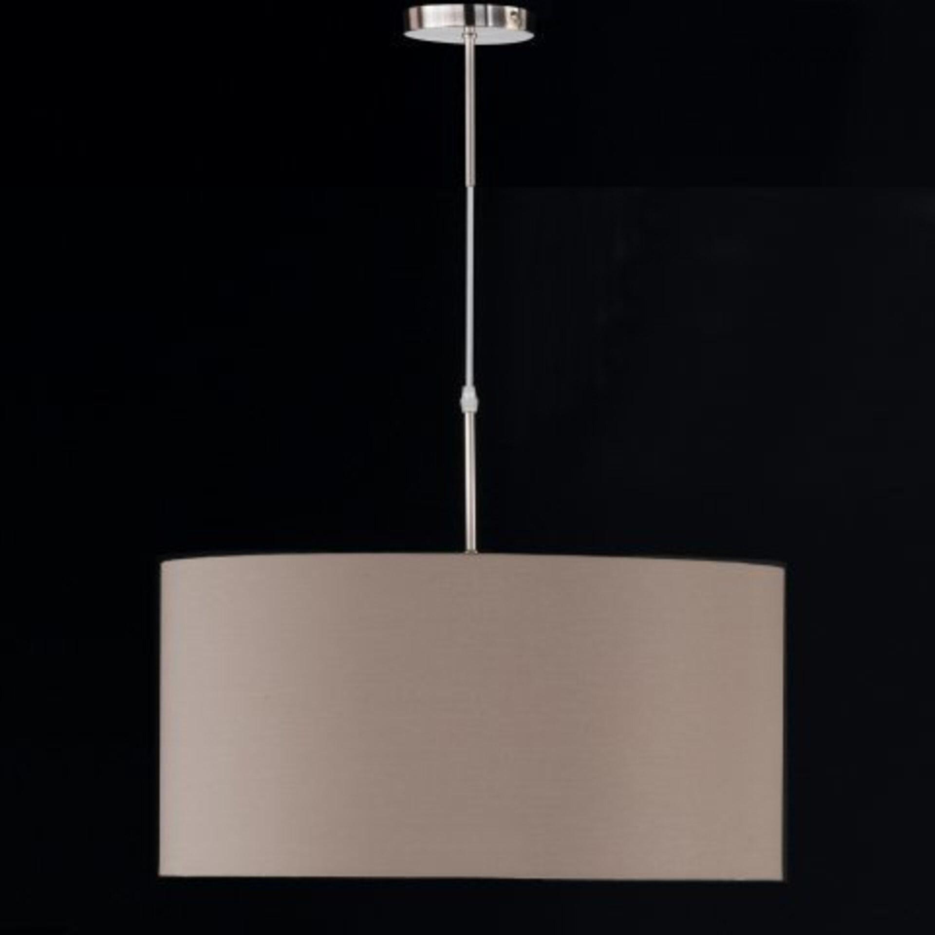 Hängeleuchte Marie Fischer-Honsel Metall silber 50 x 130 x 50 cm