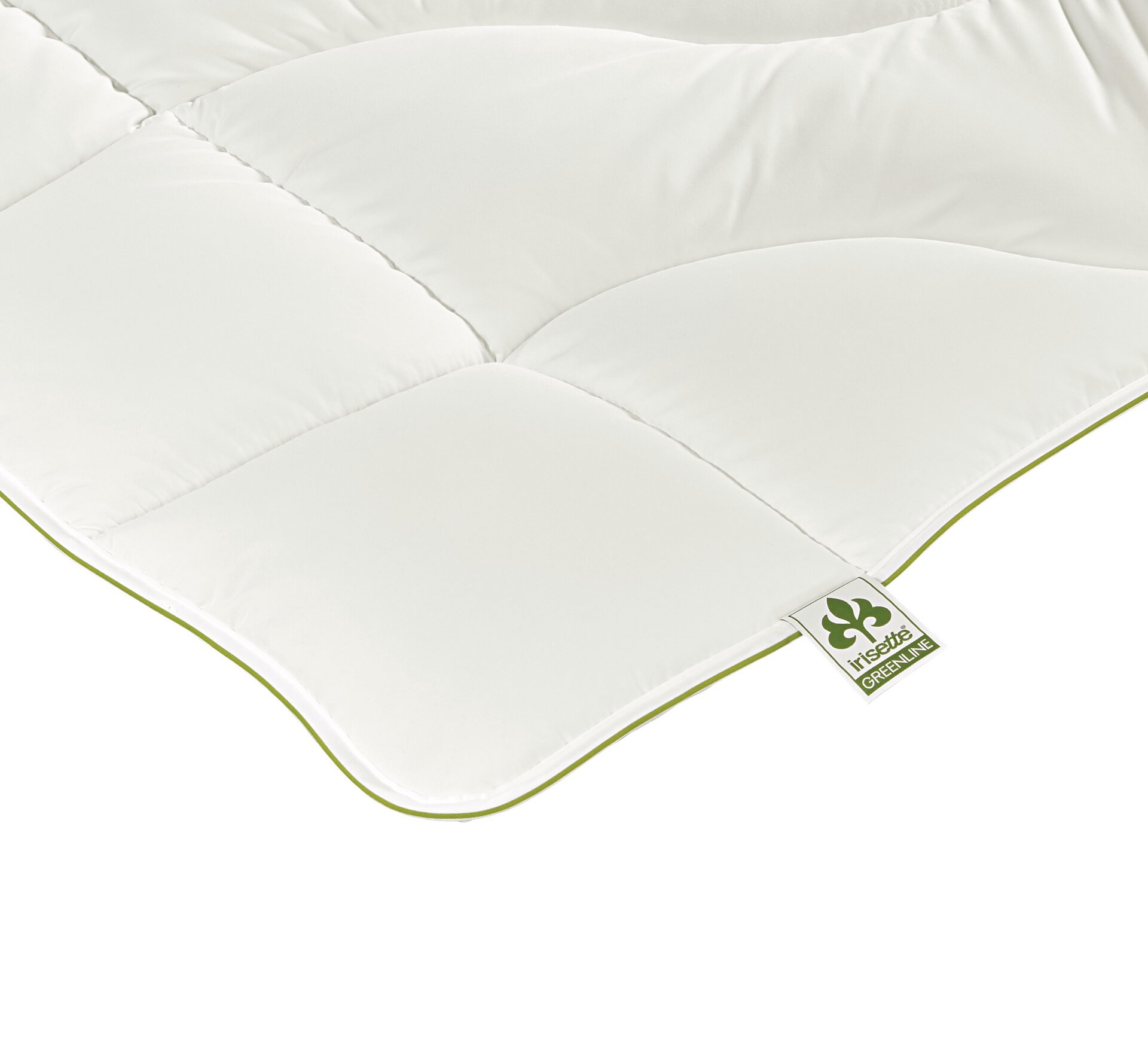 Lightdecke Cyclafill ECO leicht Badenia Irisette Greenline Textil weiß 155 x 200 cm
