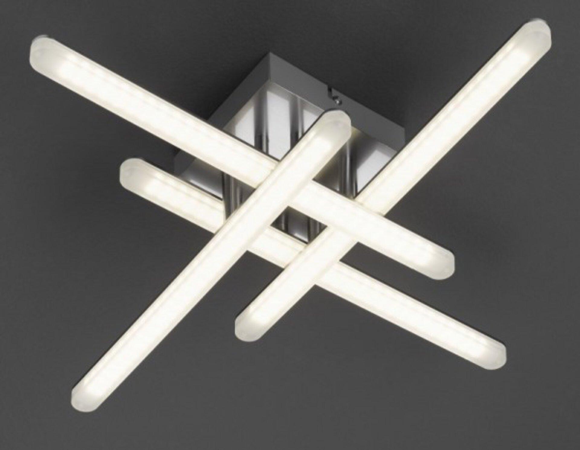 Deckenleuchte Flash Casa Nova Metall 53 x 10 x 53 cm