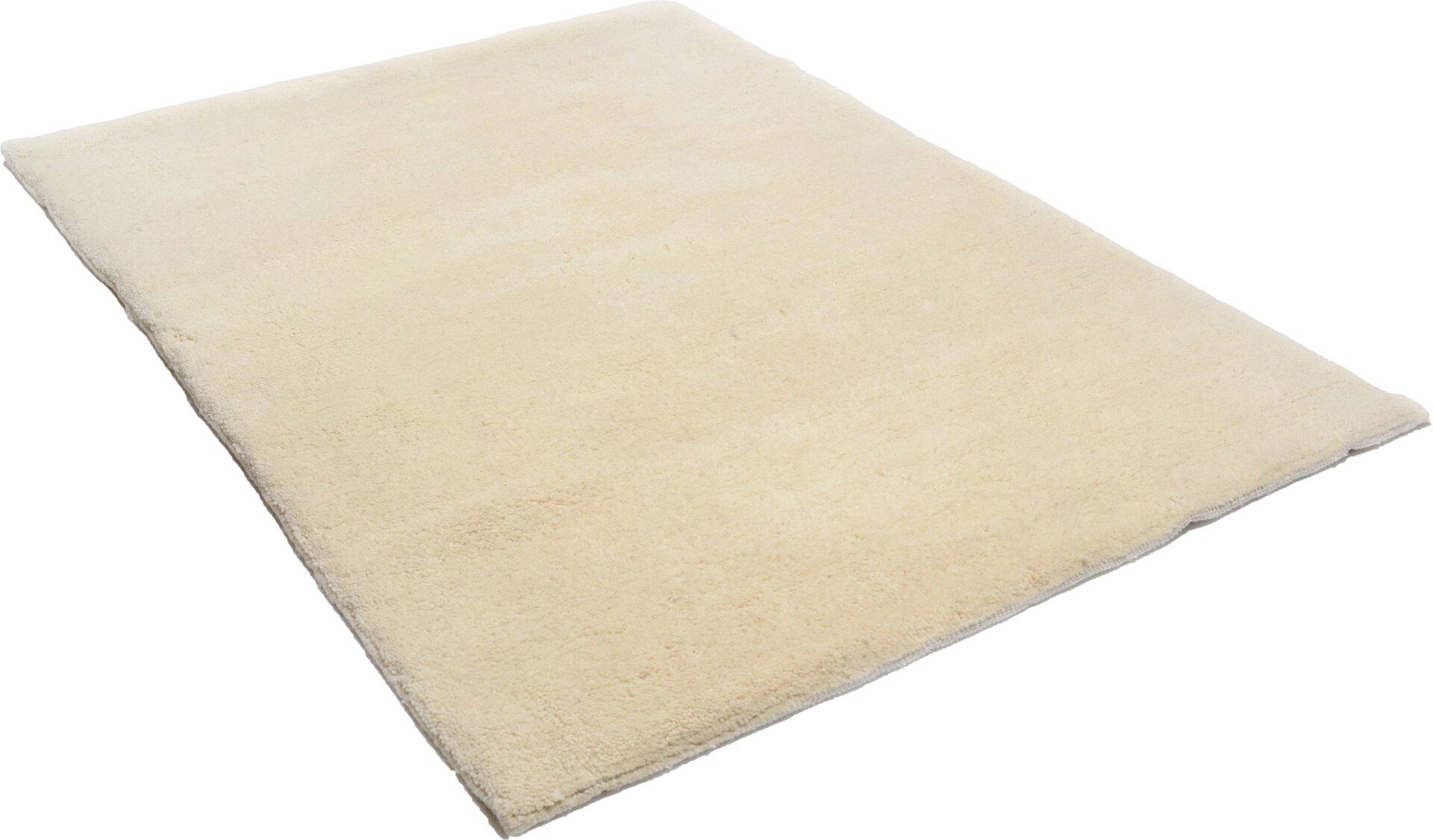 Handknüpfteppich Nador Theko Textil braun 1 x 1 cm