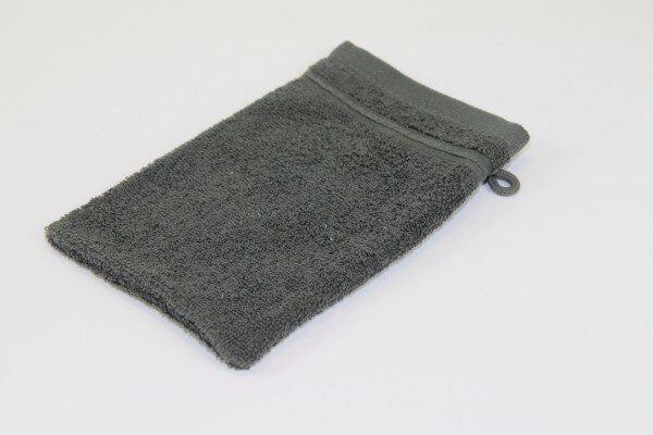 Waschhandschuh Porto Casa Nova Textil anthrazit
