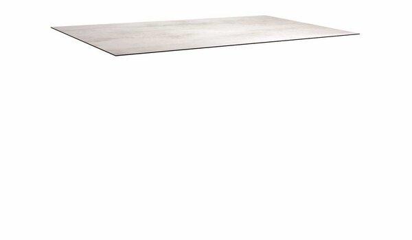 Tischplatte Stern Garten- und Freizeitmöbel Holzwerkstoff Zement hell ca. 90 cm x 1 cm x 160 cm