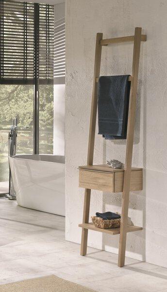 Handtuchhalter Voglauer Holz Wildeiche lackiert