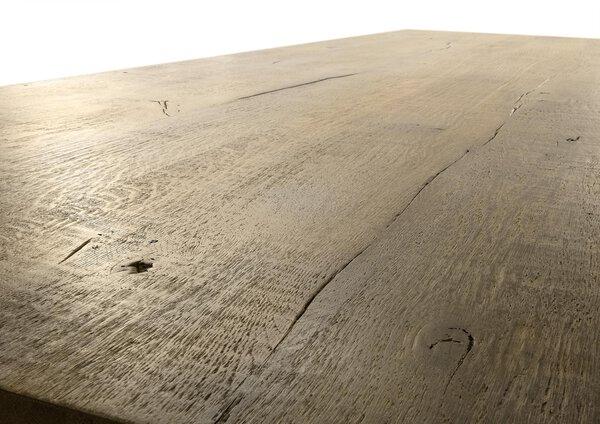 Esstisch WK Wohnen Edition Holz, Metall BC Oak Weathered ca. 100 cm x 76 cm x 220 cm