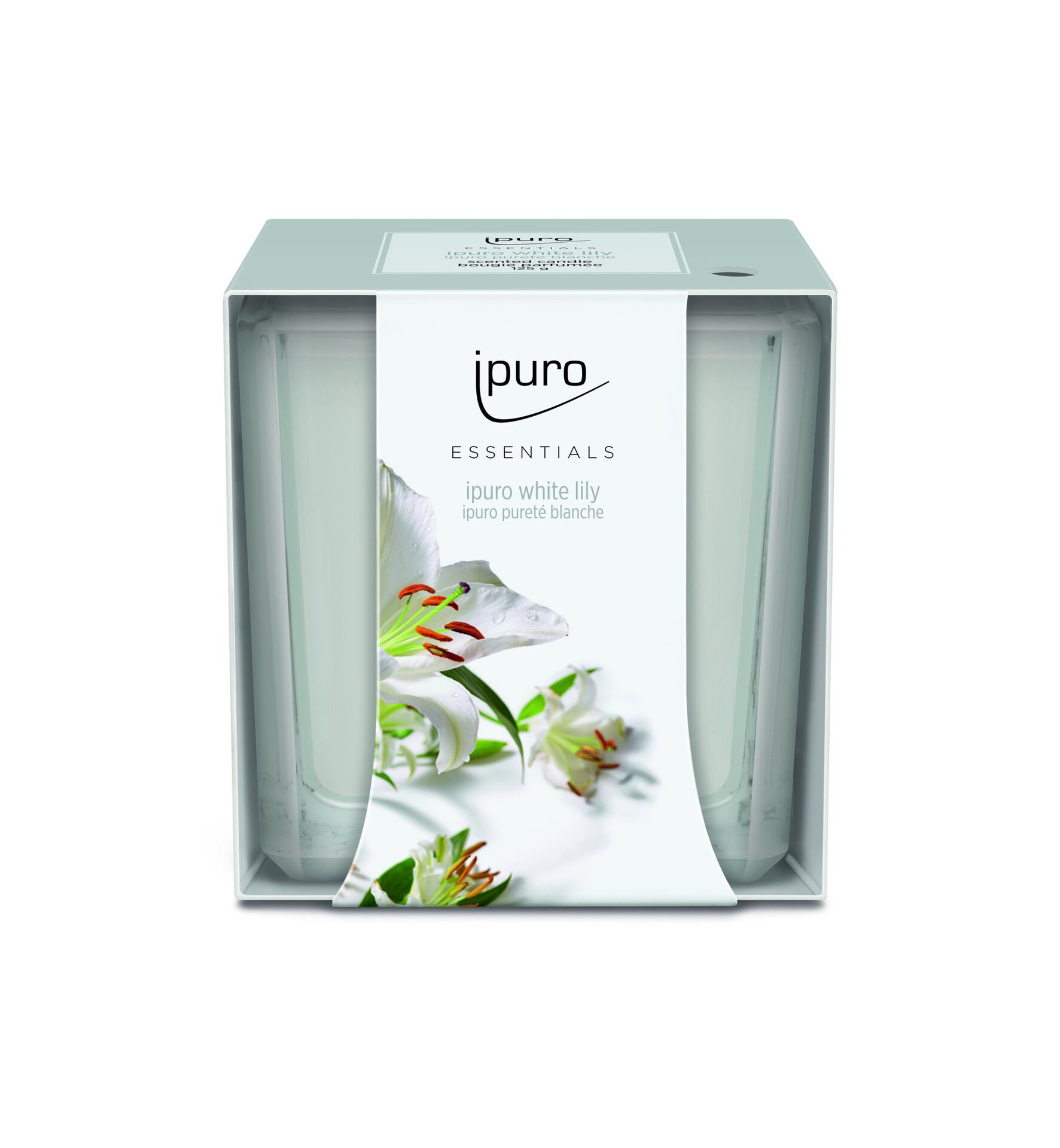 Raumduft white lily ipuro Wachs weiß
