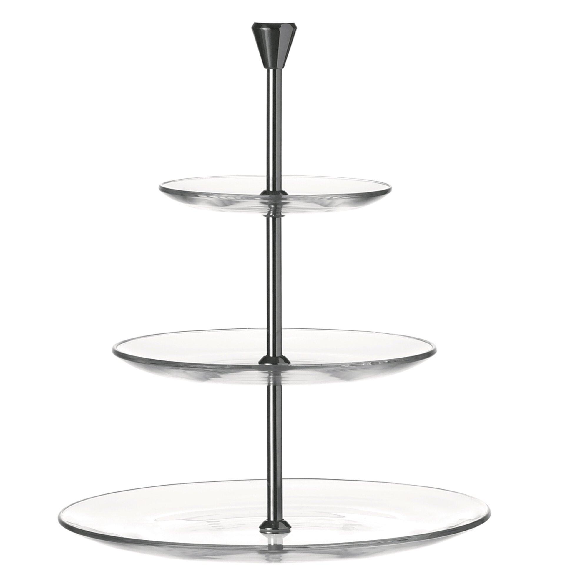 Etagere Dinner Leonardo Glas 29 x 7 x 28 cm