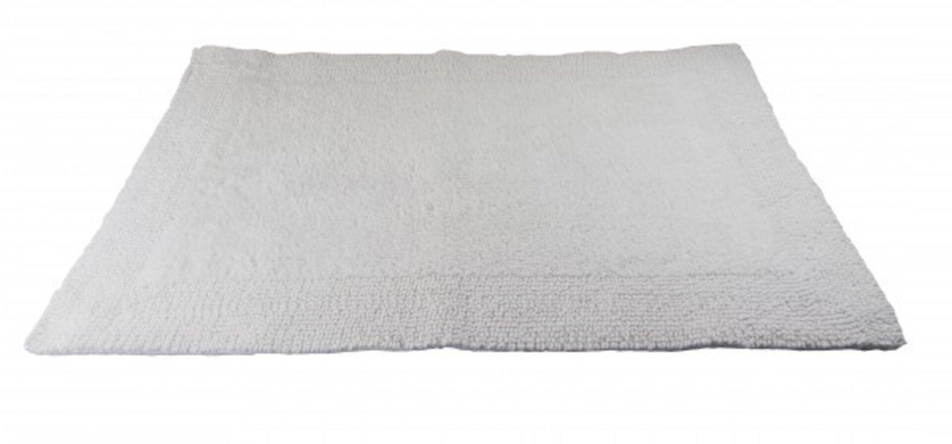 Badteppich Cleveland Casa Nova Textil weiß 70 x 120 cm