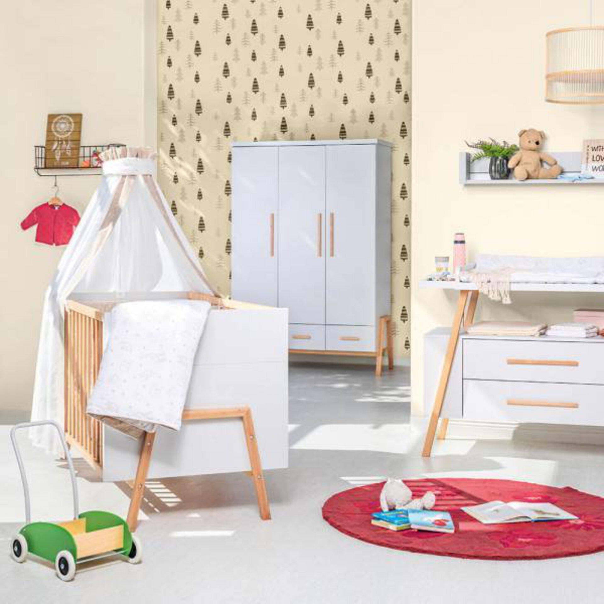 Kinderbett CONNY Vito Holzwerkstoff mehrfarbig