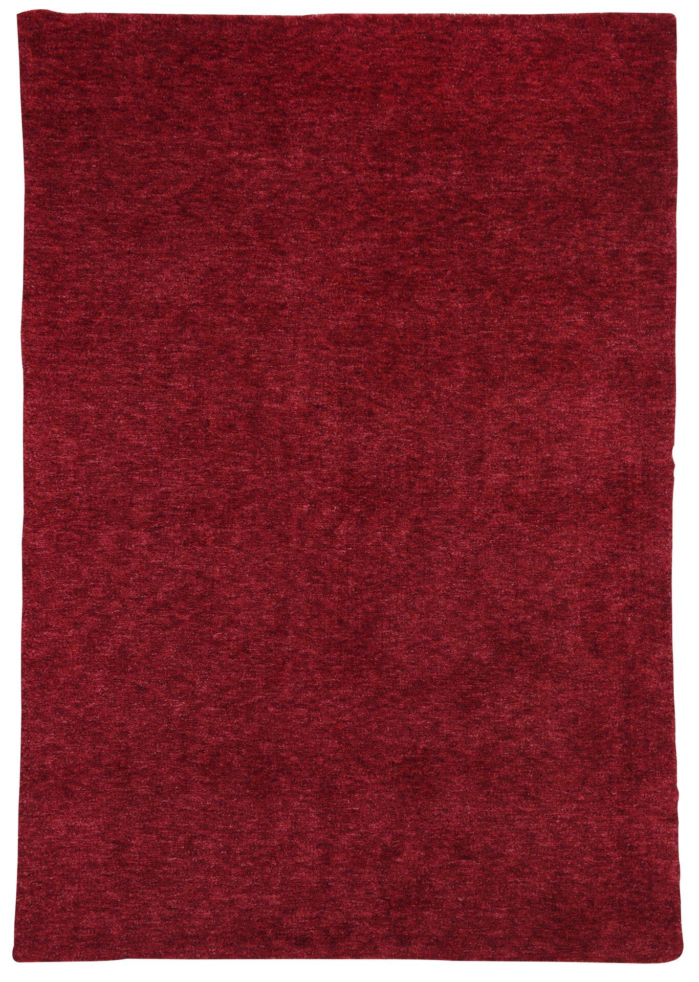 Handtuftteppich Roberto Gino Falcone Textil rot 160 x 230 cm