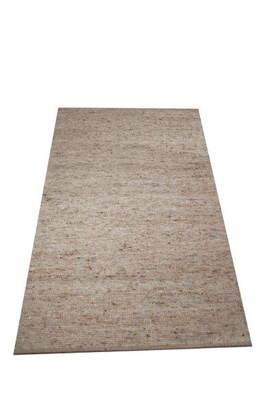 Handwebteppich Laax Allgäuer Teppichmanufaktur Textil 02 dunkelbeige