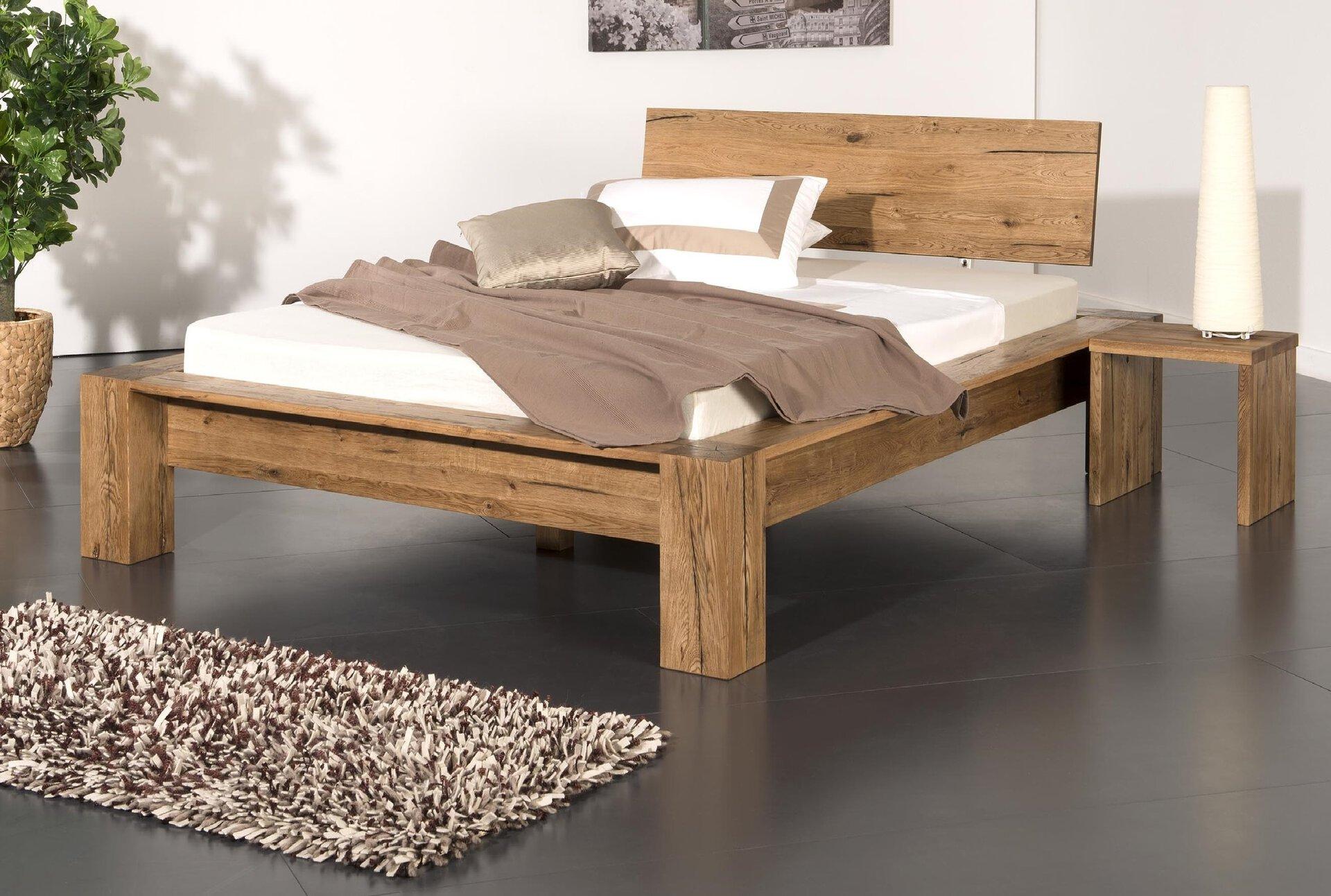 Bett MORTEN Modular Holz 200 x 180 cm