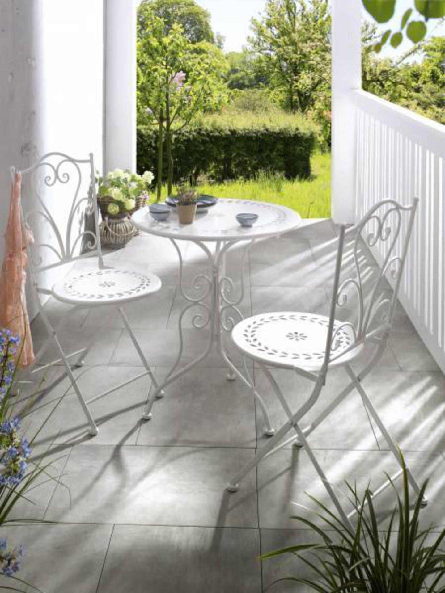 Gartenstuhl 179904 Cottage Style by Casa Nova Casa Nova Metall