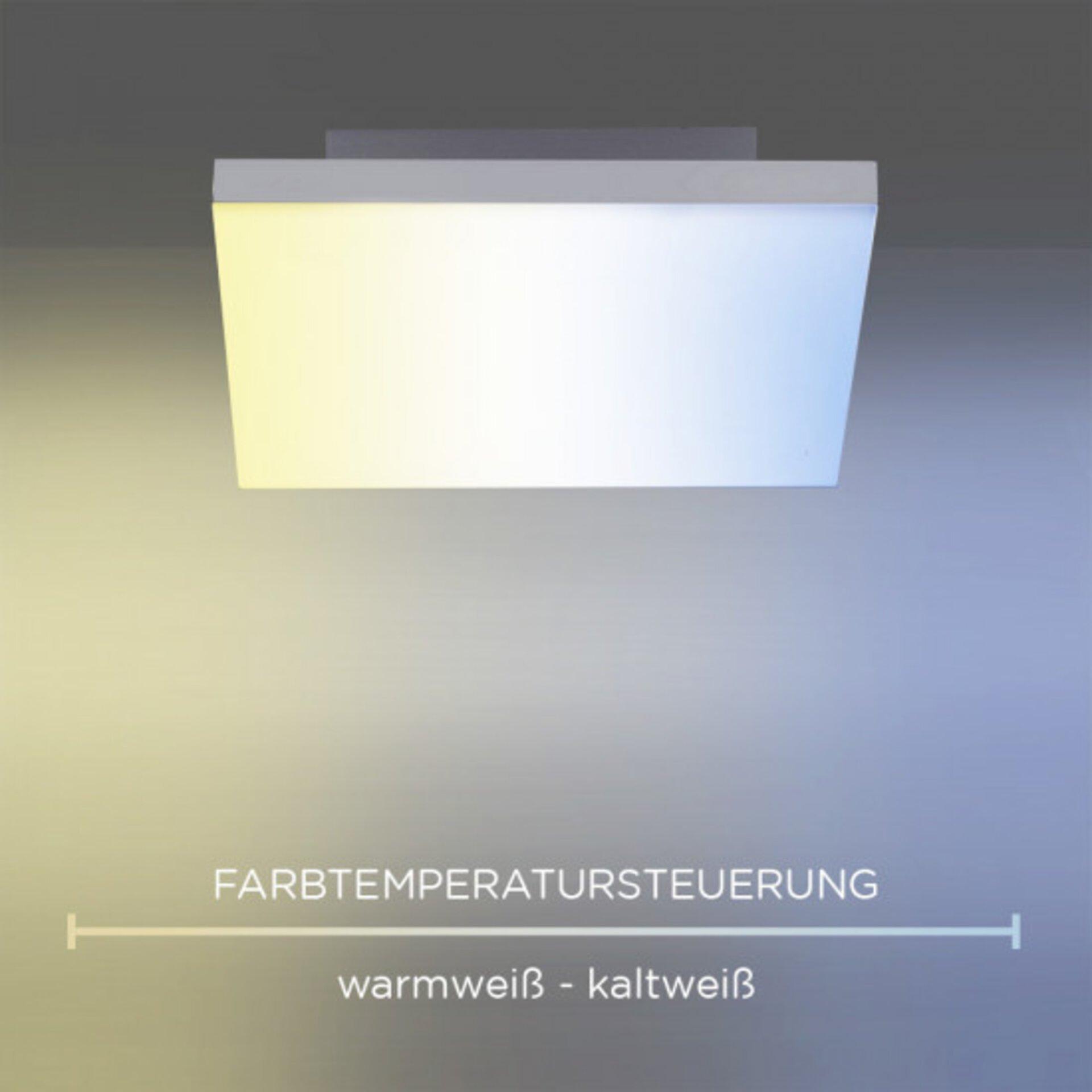 Deckenleuchte FRAMELESS Paul Neuhaus Metall 62 x 7 x 62 cm