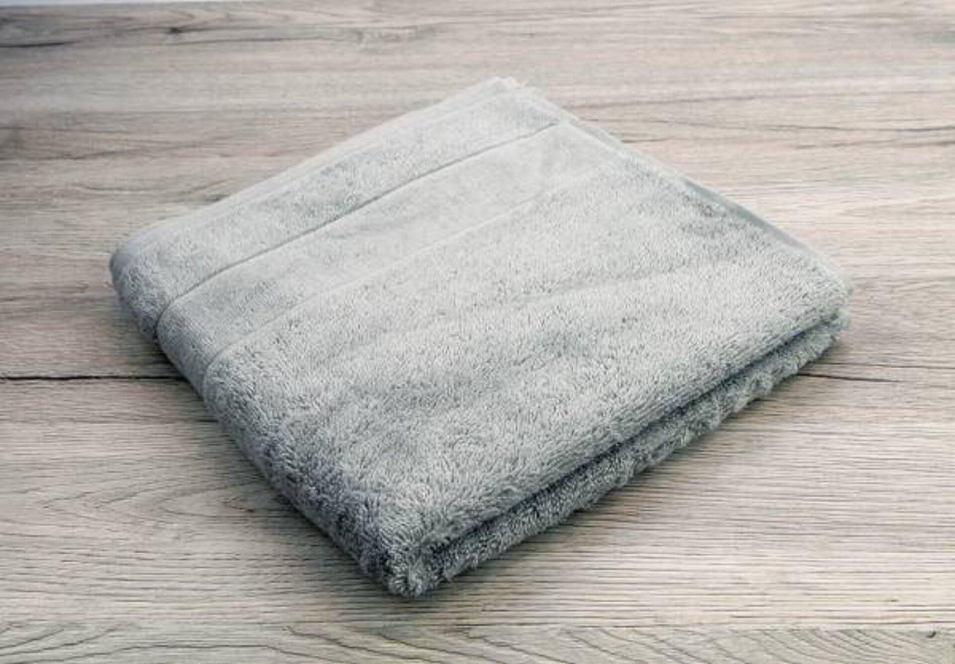 Handtuch Cawö Textil grau