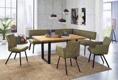 Tisch mit fester Platte Miteo