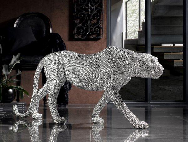 Dekoobjekte Casa Nova Kunststoff silber ca. 23 cm x 44 cm x 120 cm