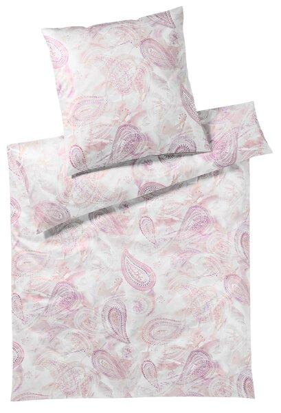 Satin-Bettwäsche Elegante Textil malve