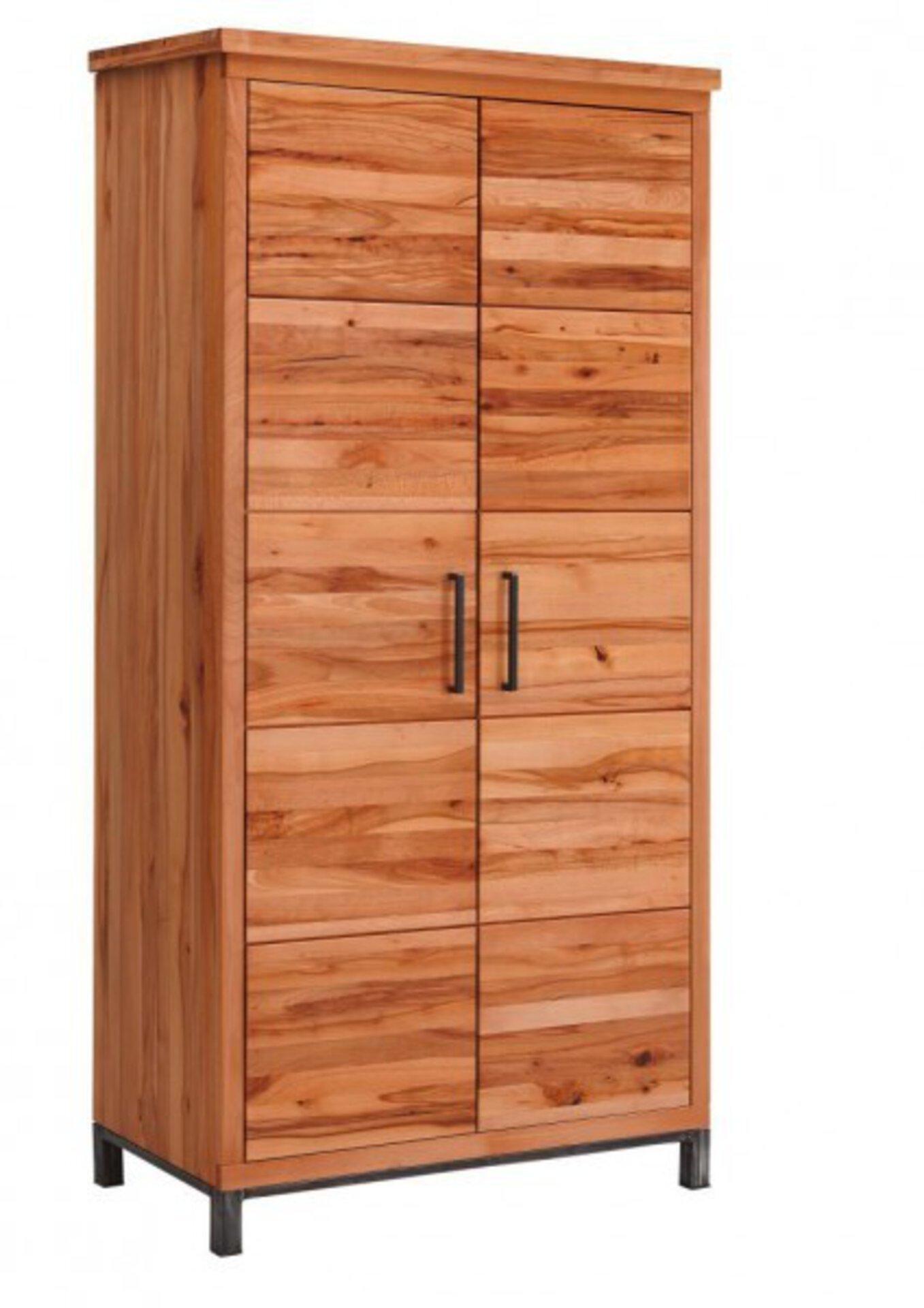 Garderobenschrank 7075 Gradel Holzwerkstoff braun 53 x 200 x 100 cm