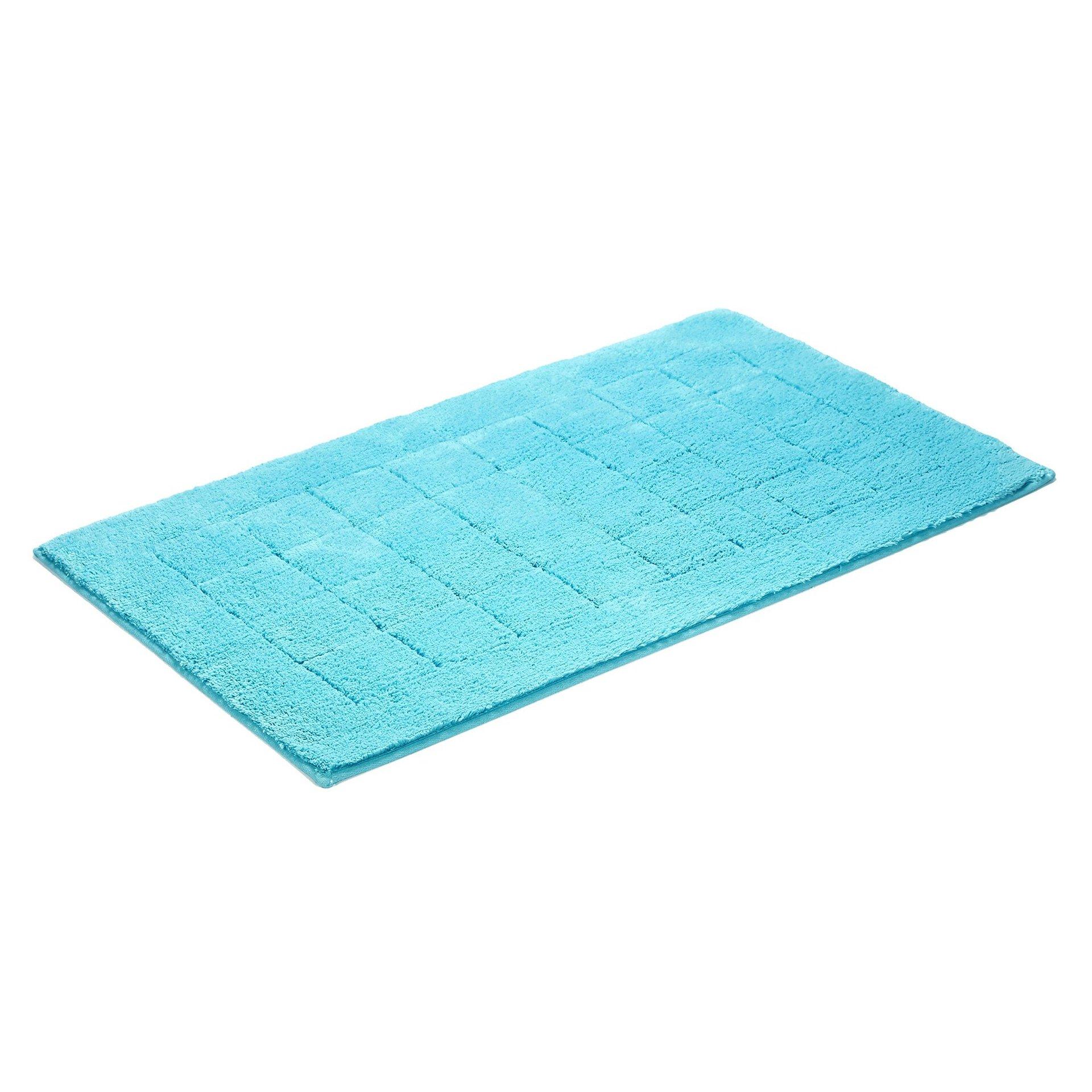 Badteppich Exclusive Vossen Textil Blau 67 x 120 cm