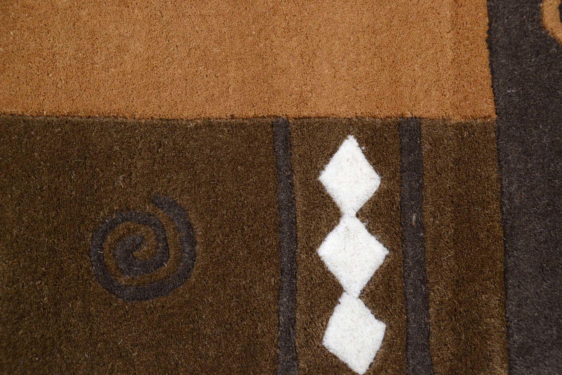 Handtuftteppich Ambadi Theko Textil braun 60 x 90 cm