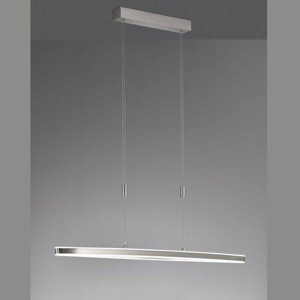 Smart-Home-Leuchten Fischer-Honsel  Metall nickel ca. 15 cm x 150 cm x 111 cm