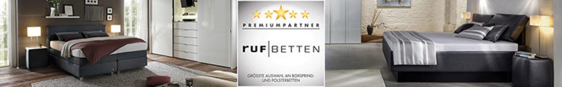 Bannerbild der Premiumpartner-Marke ruf Betten