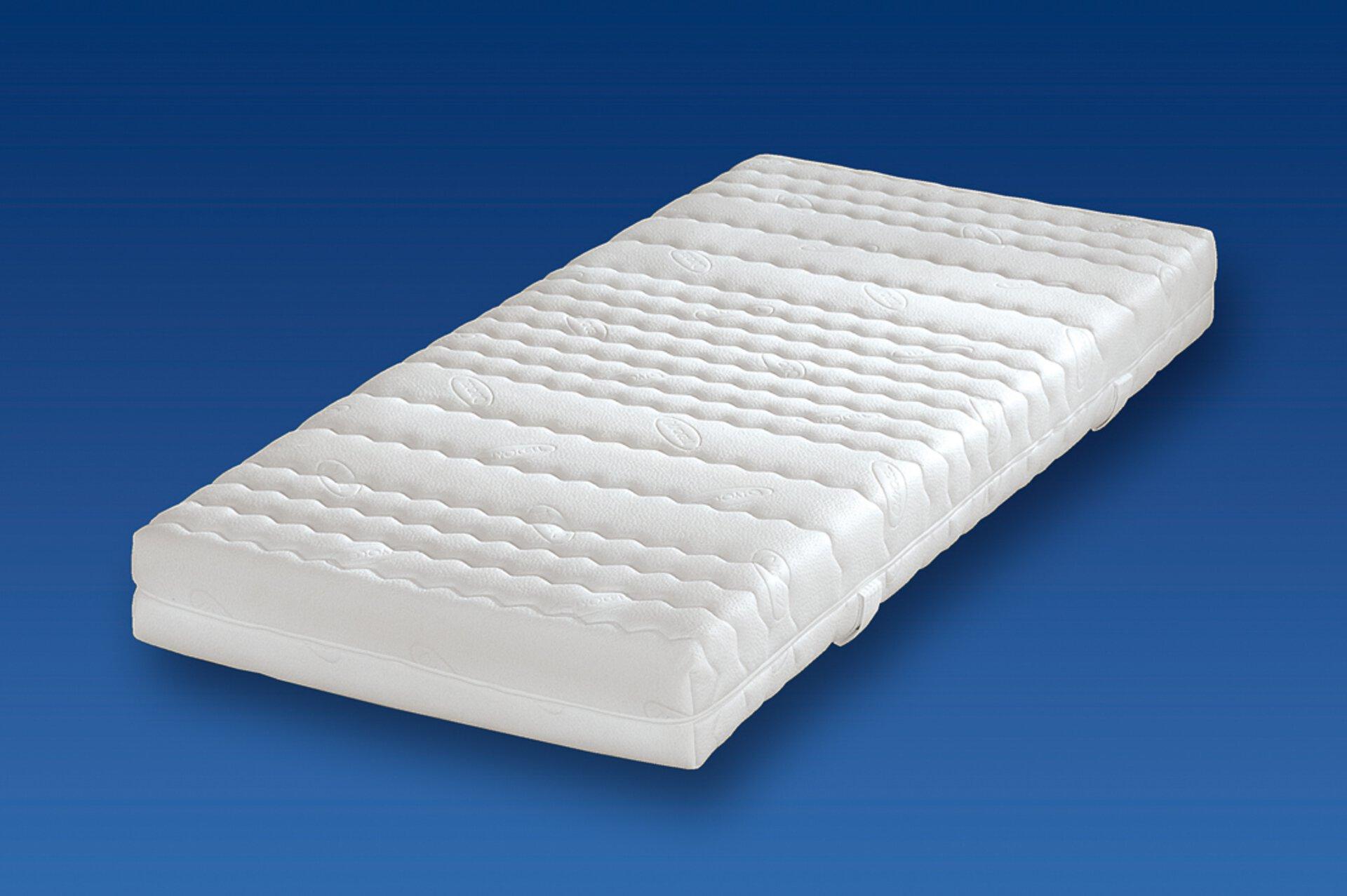 Kaltschaummatratze SANIFLEX Breckle Textil weiß 2 x 1 cm