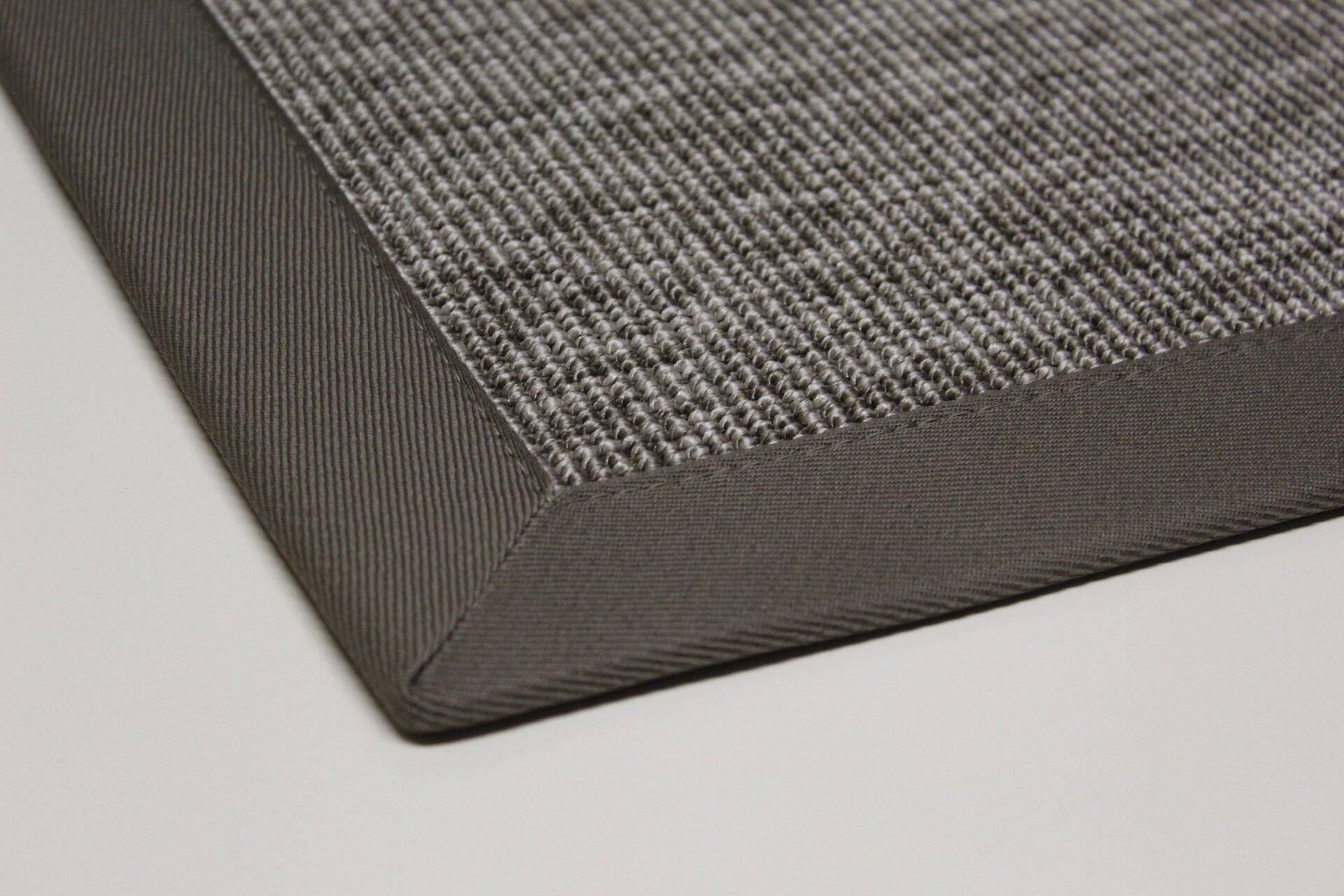 Outdoorteppich Naturino Rips DEKOWE Textil grau 67 x 133 cm