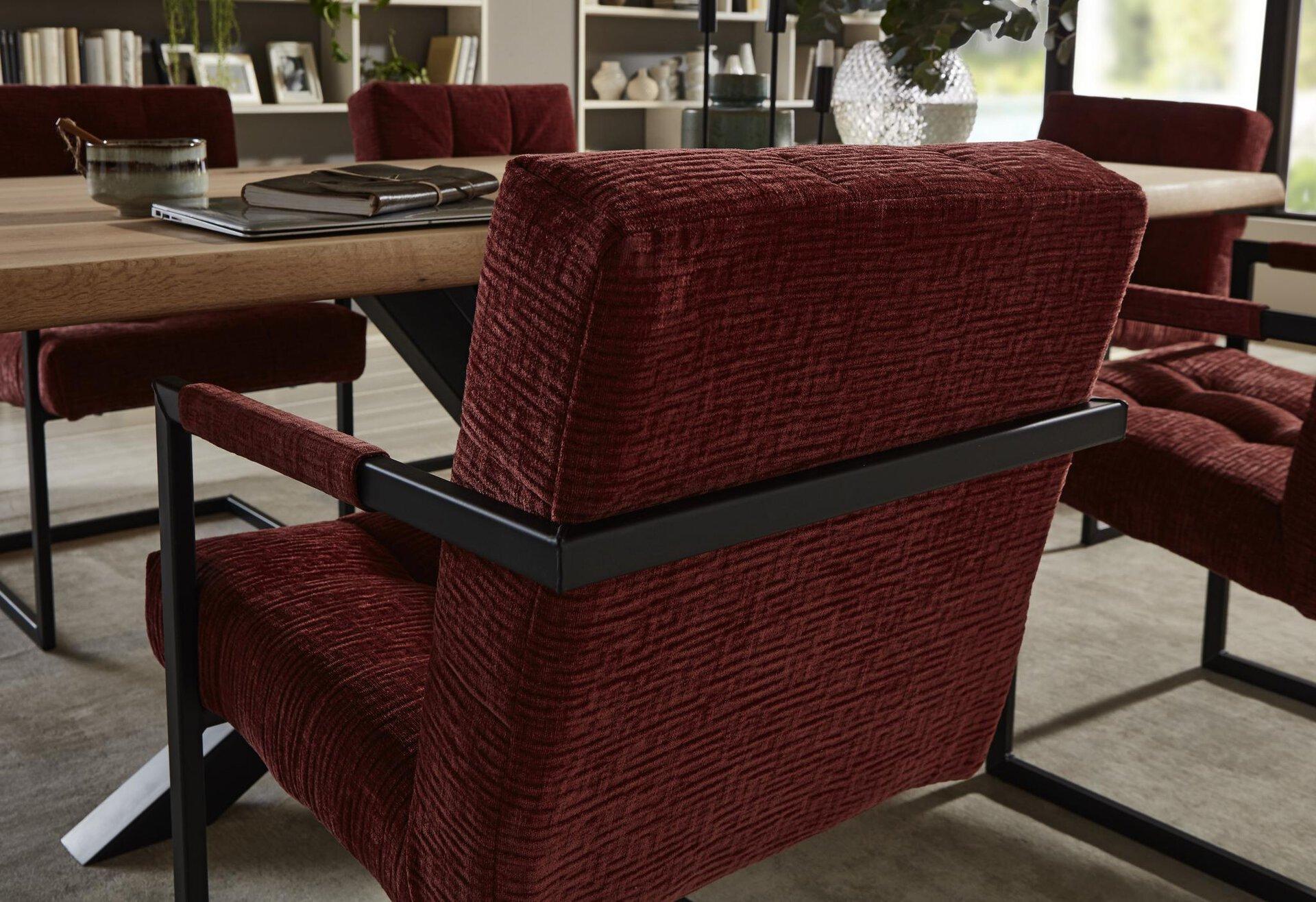 Freischwinger BADSAAL VALMONDO Textil mehrfarbig 64 x 89 x 56 cm