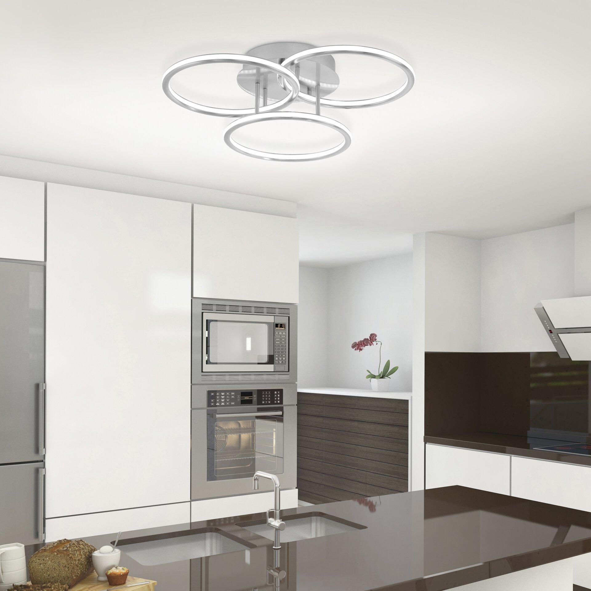 Smart-Home-Leuchten Q-NEVIO Paul Neuhaus Metall 56 x 13 x 56 cm