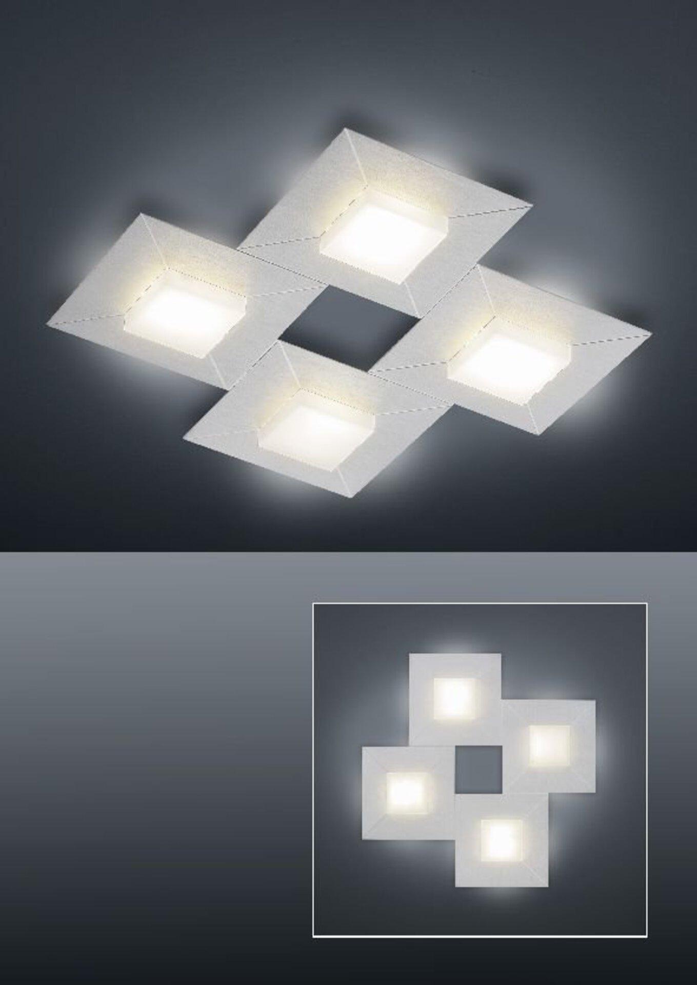 Smart-Home-Leuchten Diamond Bankamp Metall 43 x 6 x 43 cm
