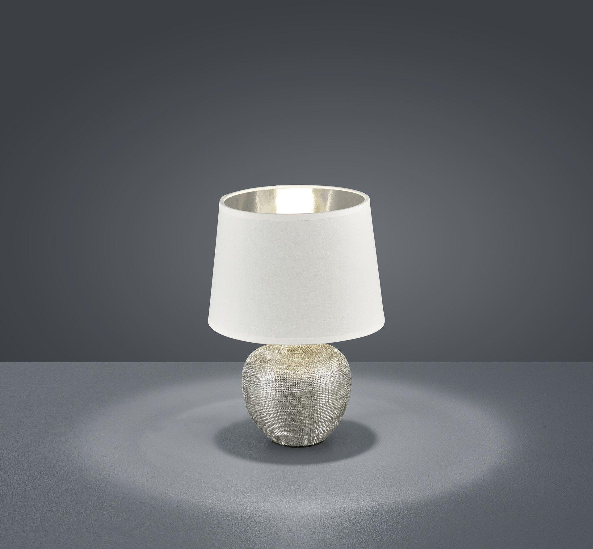 Tischleuchte Luxor Reality Leuchten Keramik 18 x 26 x 18 cm