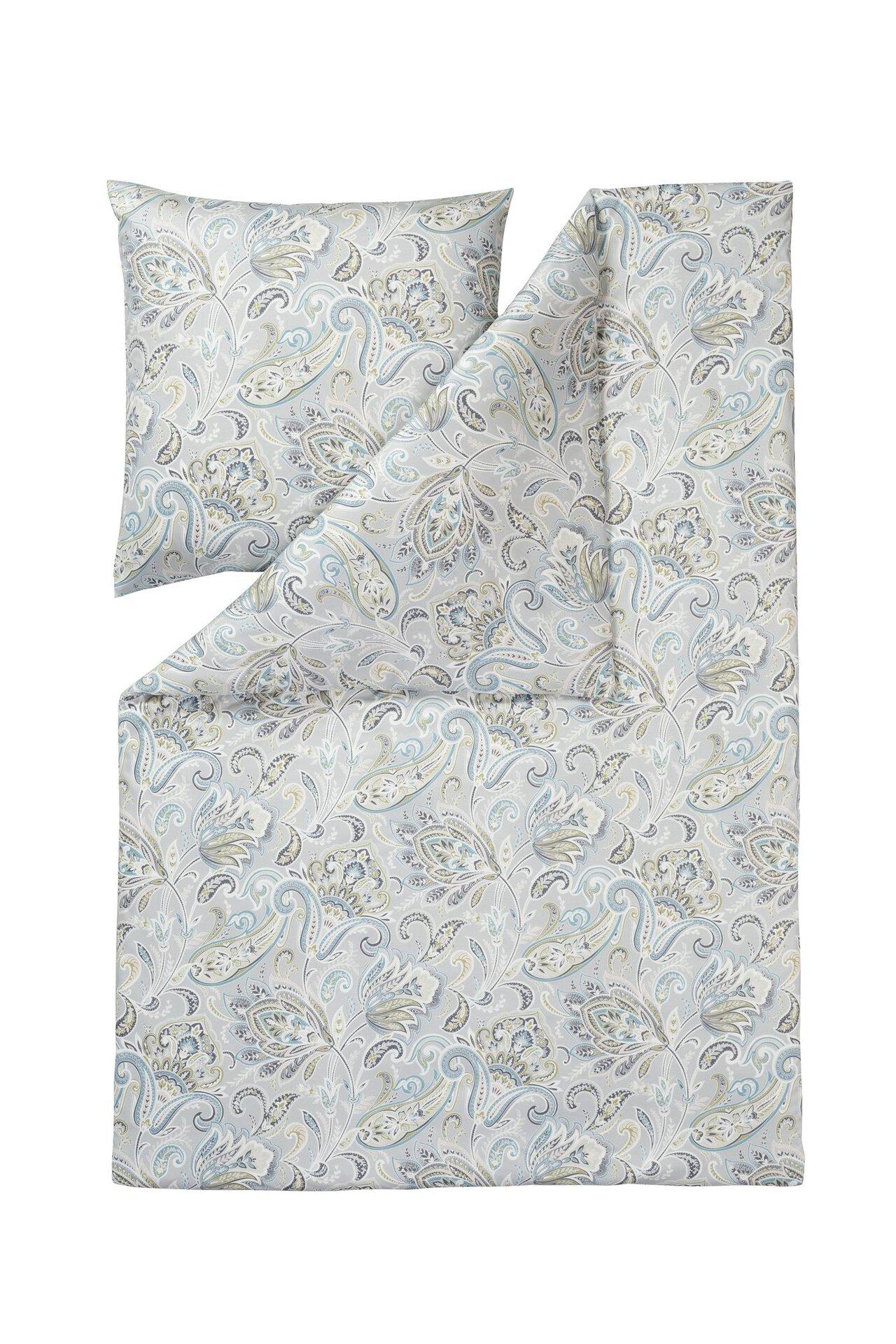 Jersey-Bettwäsche Milano Estella Textil silber 1 x 2 cm