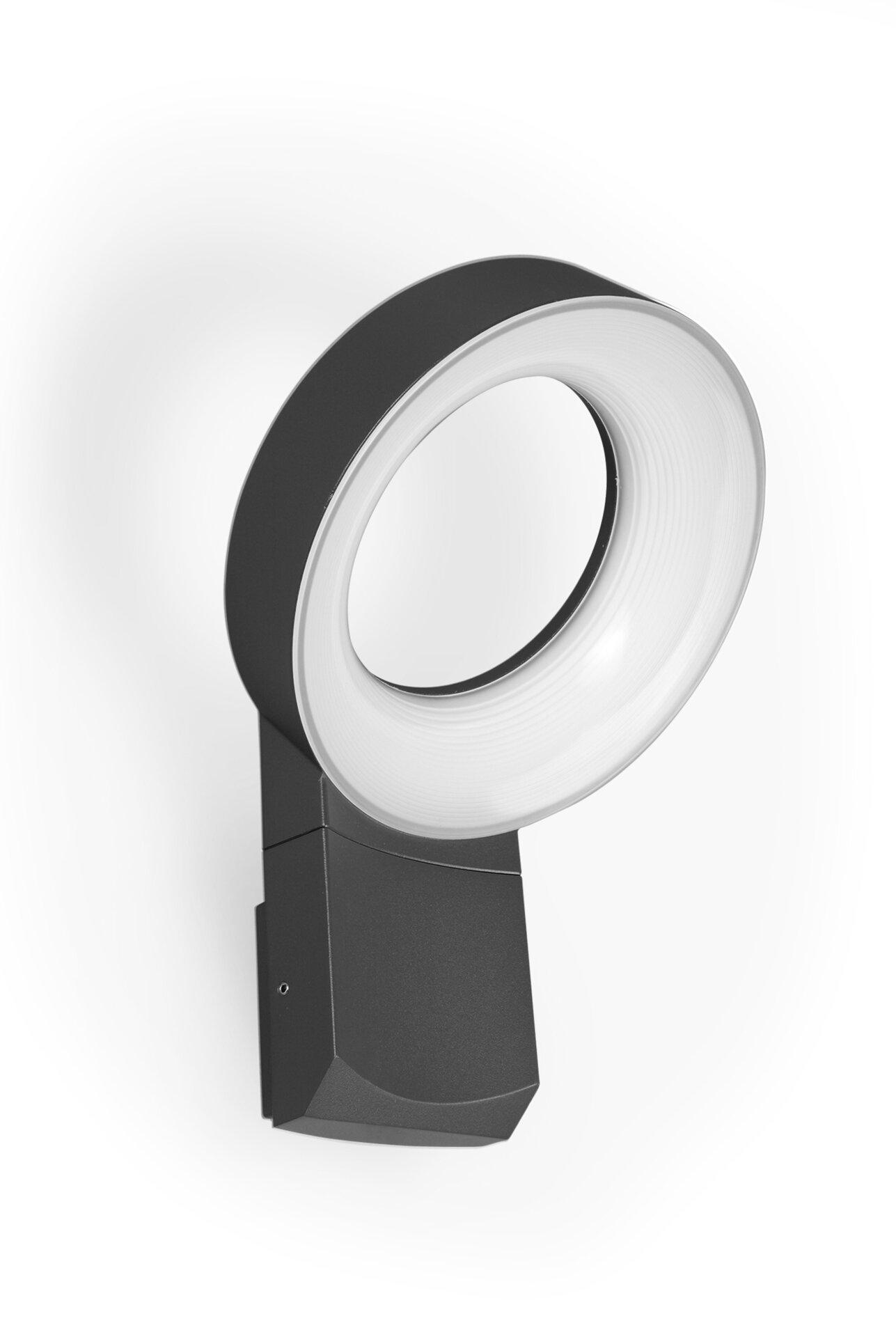 Wand-Aussenleuchte Meridian Eco-Light Metall 18 x 27 x 18 cm