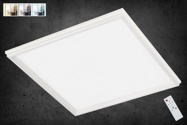 Deckenleuchte Briloner Metall weiß ca. 45 cm x 6 cm x 45 cm