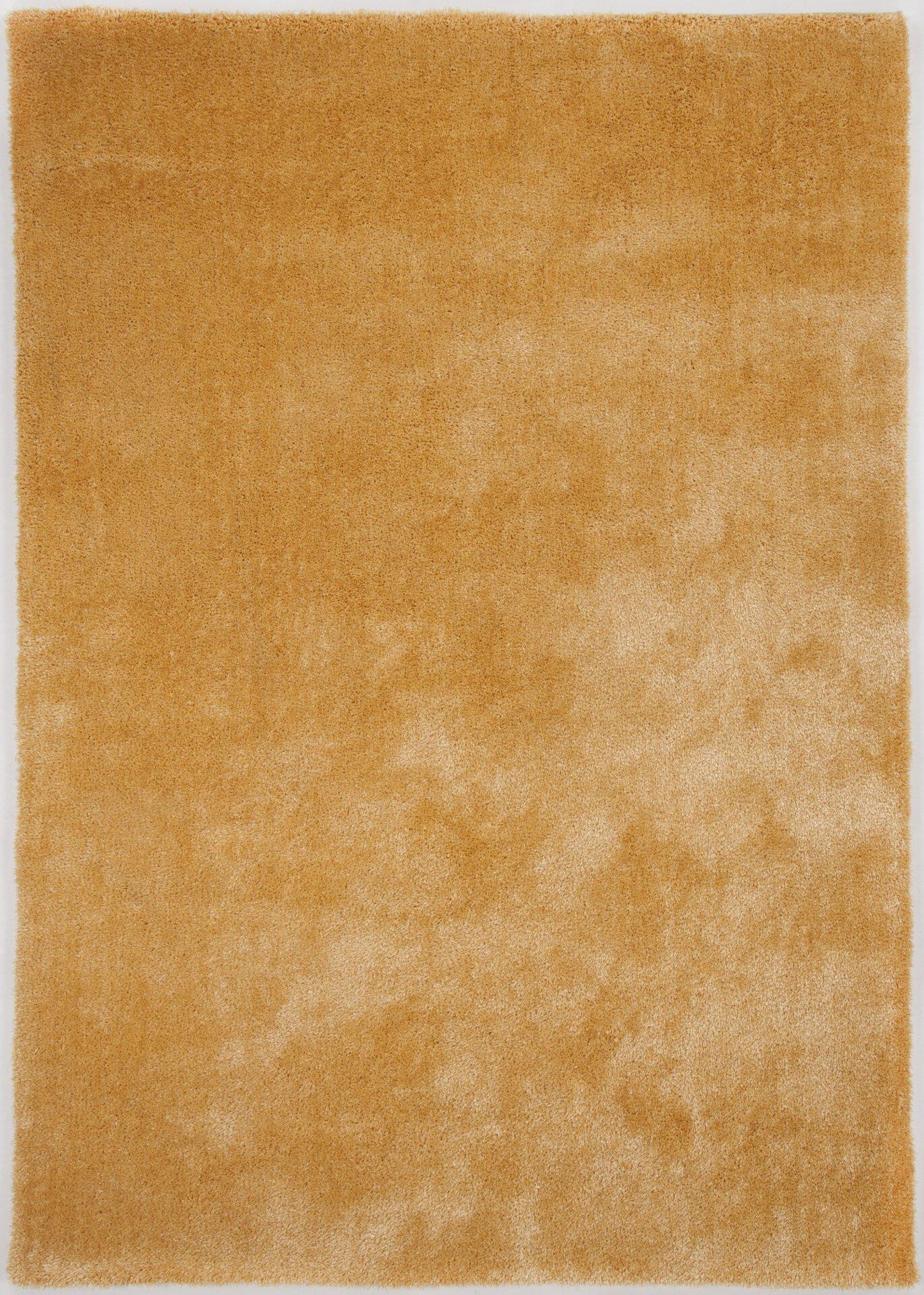 Handtuftteppich Alessandro Gino Falcone Textil gold 50 x 80 cm