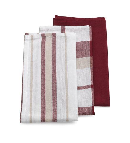 Geschirrtuch Kela Textil altrot