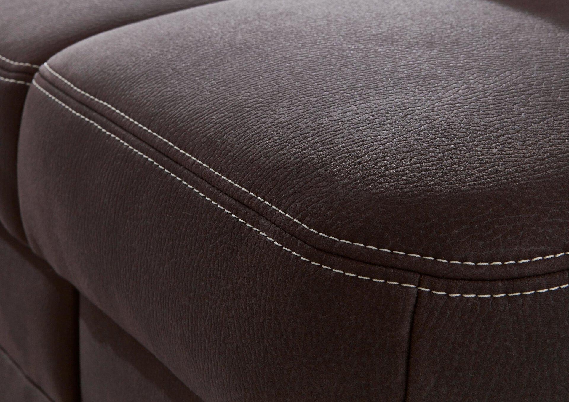 Polstergarnitur PP-HS17047 Systempolster Textil braun 318 x 103 x 327 cm