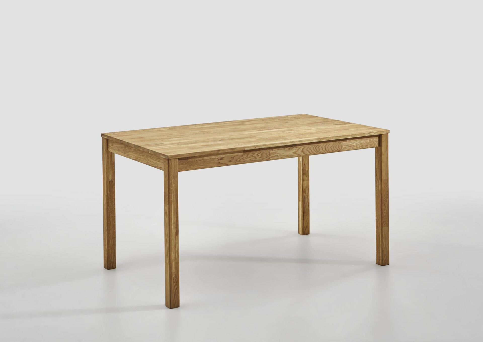 Esstisch MAILO SELF Holz braun 80 x 75 x 140 cm