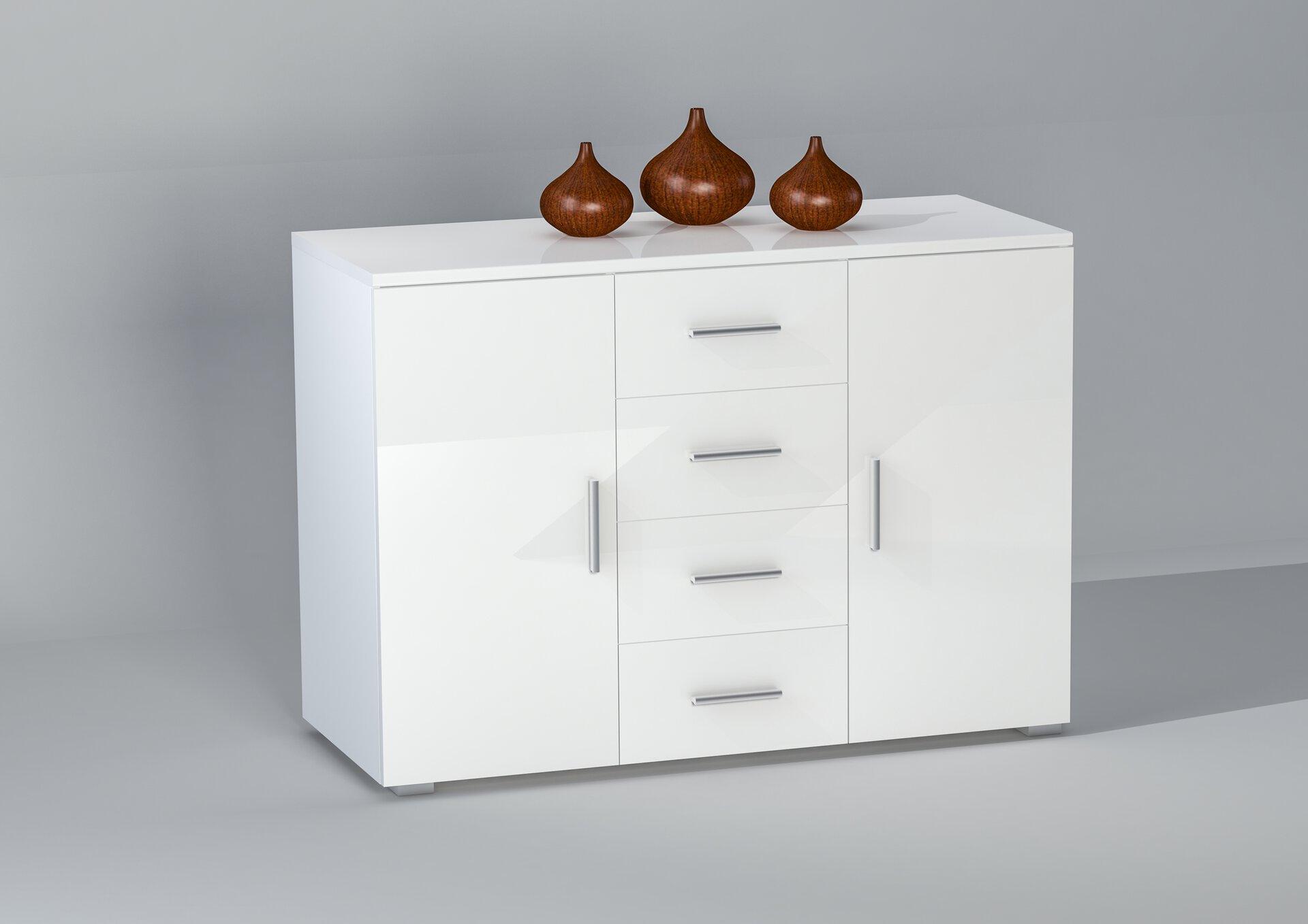 Kommode PEDRO inbuy Holzwerkstoff 48 x 86 x 120 cm