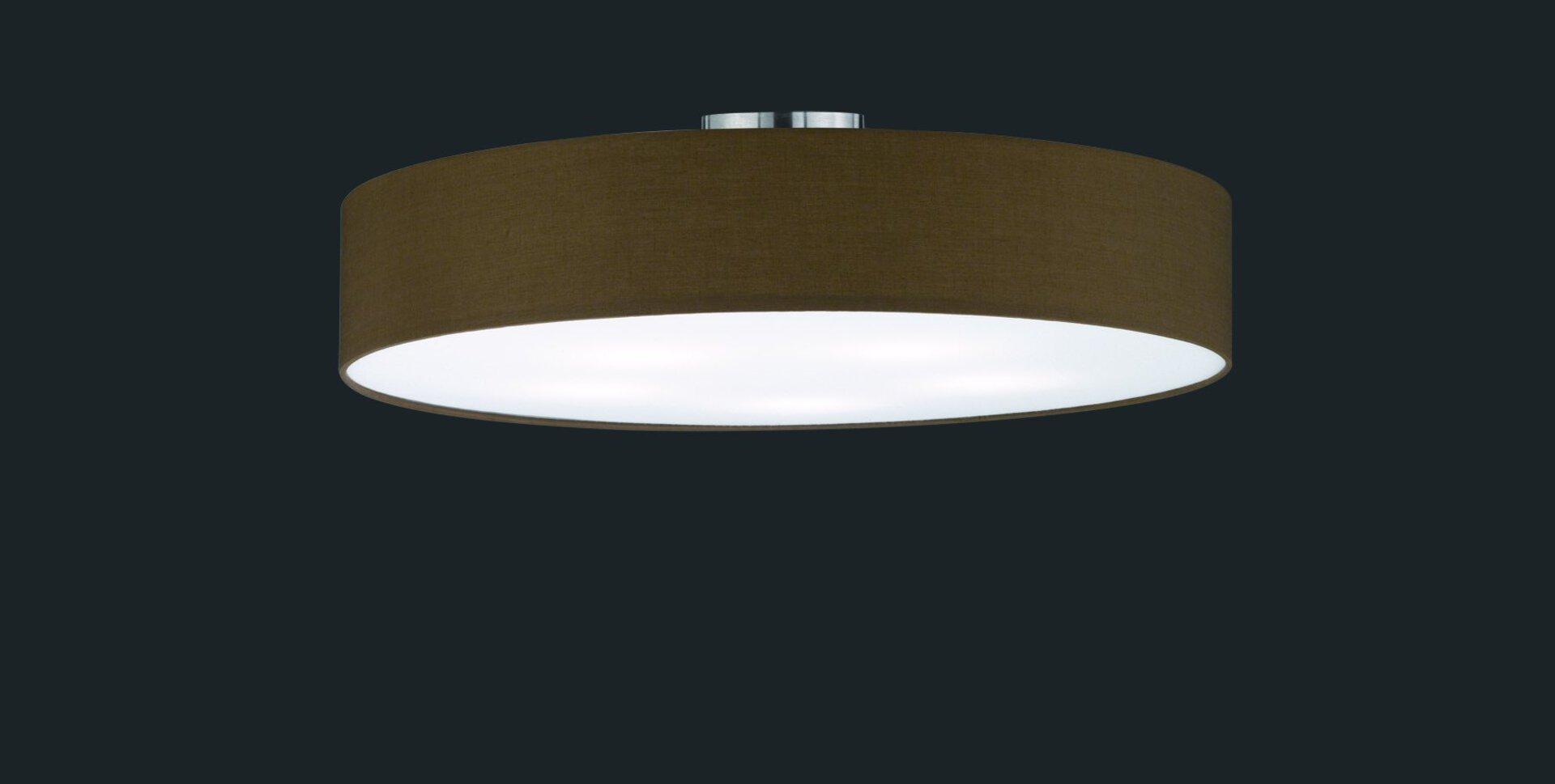 Deckenleuchte Hotel Trio Leuchten Metall 65 x 17 x 65 cm