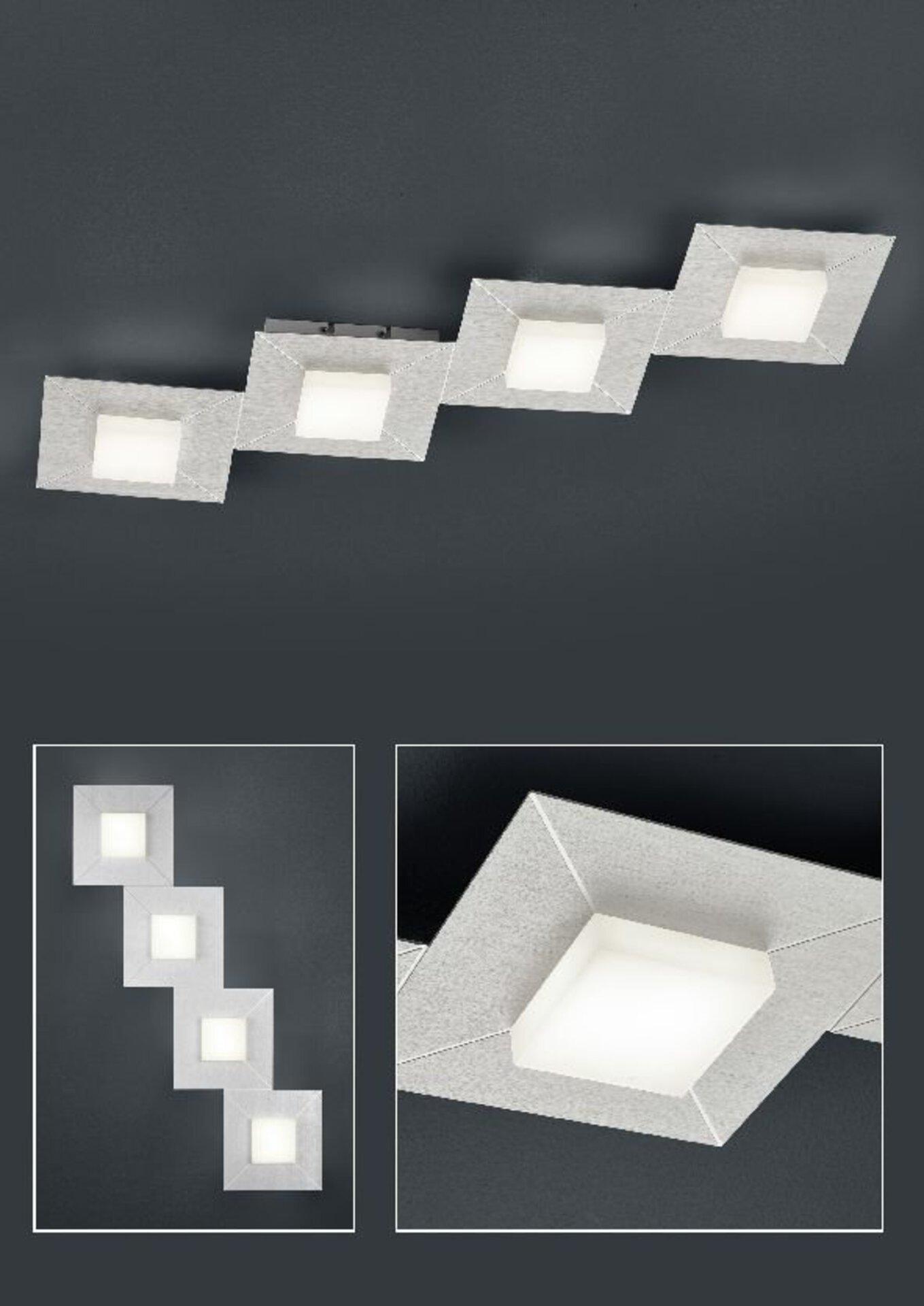 Smart-Home-Leuchten Diamond Bankamp Metall 24 x 6 x 81 cm