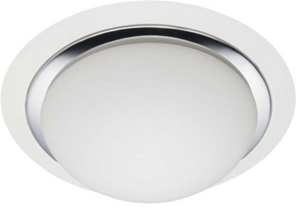 Deckenleuchte Brilliant Metall weiß, silber ca. 29 cm x 11 cm x 29 cm
