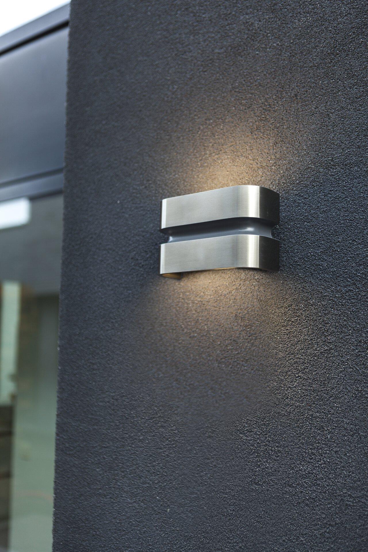 Wand-Aussenleuchte Maya Eco-Light Metall 11 x 7 x 18 cm