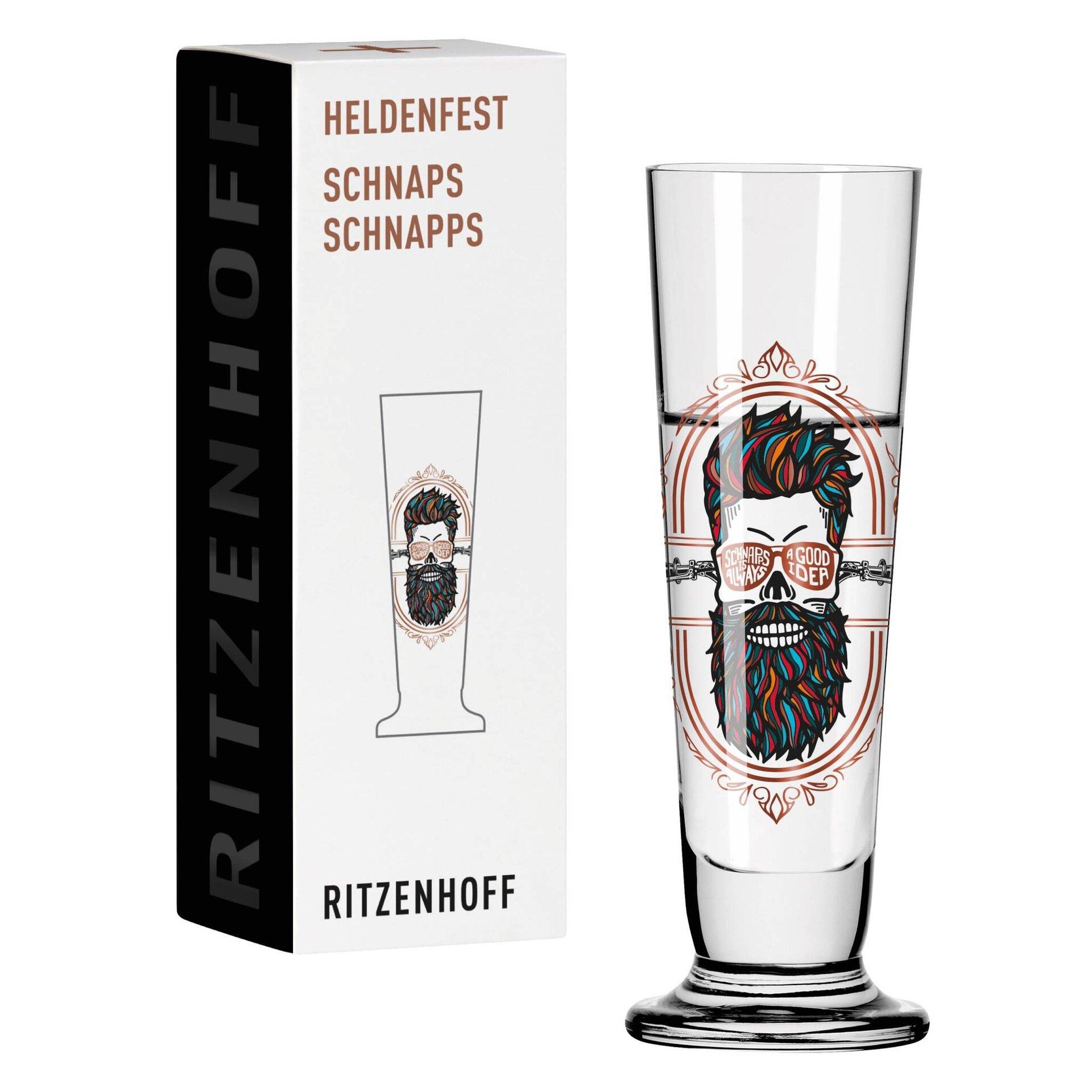 Aperitifglas Heldenfest Schnaps 004 Ritzenhoff Glas 11 x