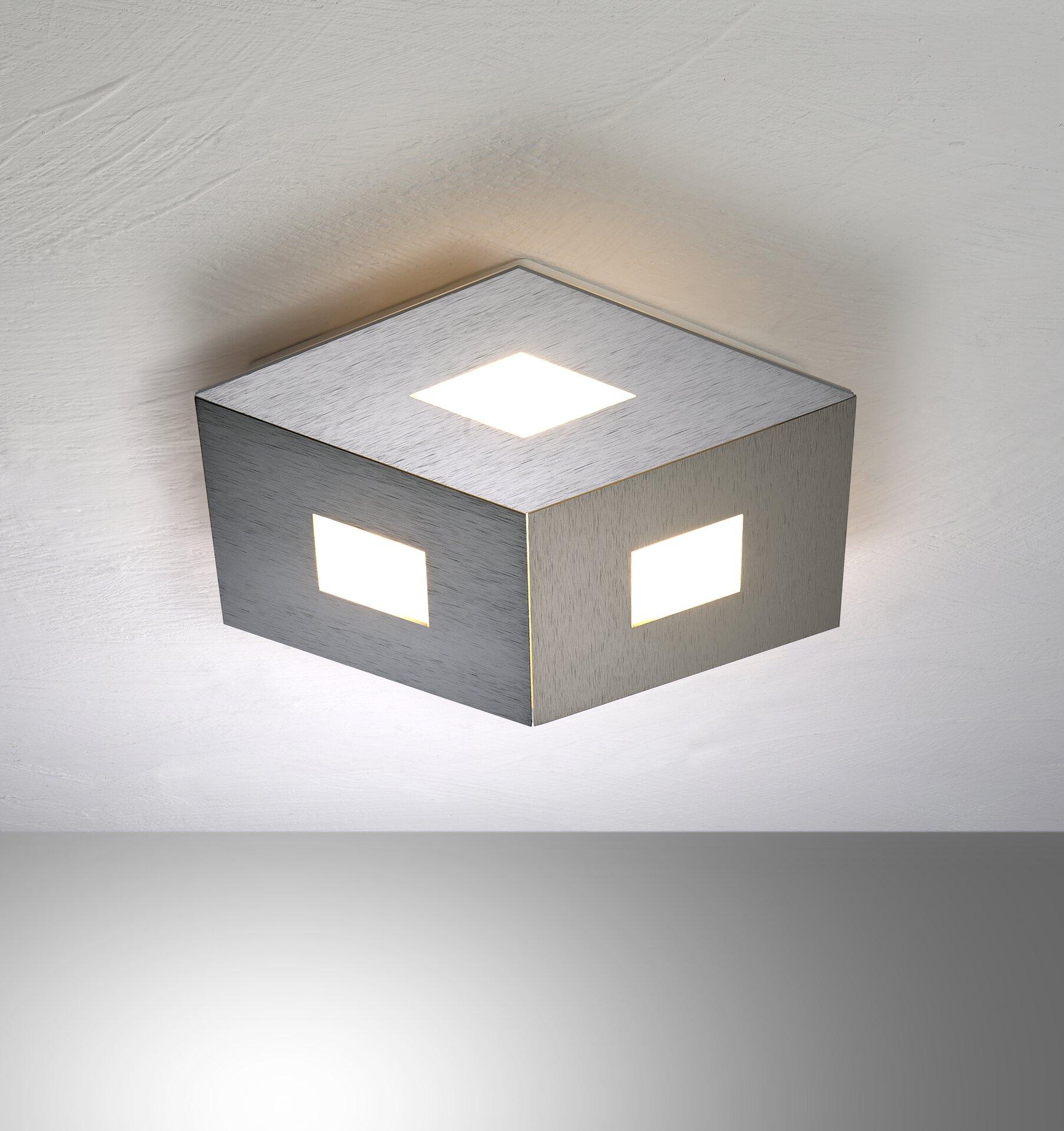 Deckenleuchte BOX COMFORT Bopp Metall mehrfarbig 35 x 4 x 35 cm