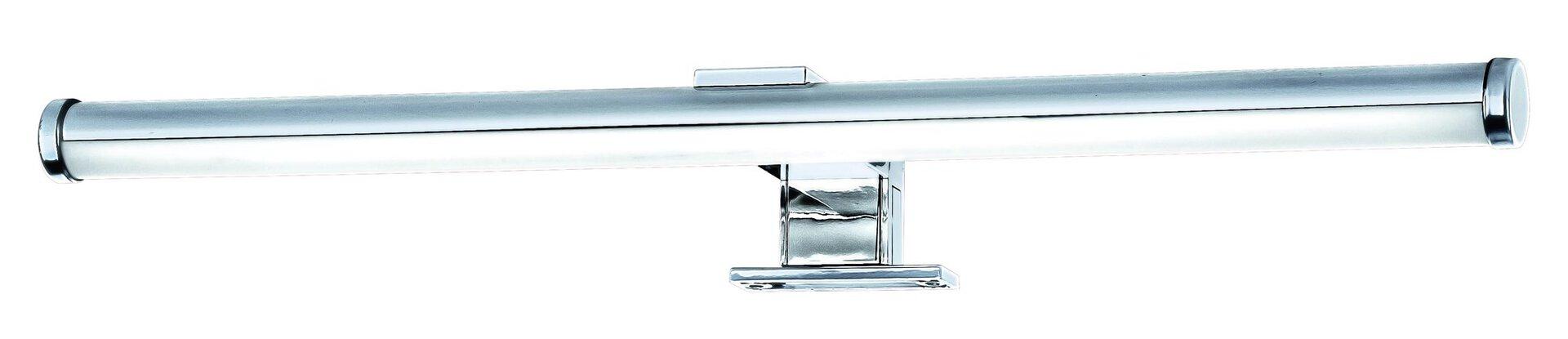 Spiegelleuchte Brilo Bath Briloner Metall silber 9 x 4 x 40 cm