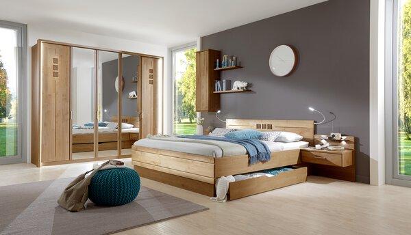 Schlafzimmer Wiemann Holzwerkstoff 305 Erle teilmassiv / Spiegel